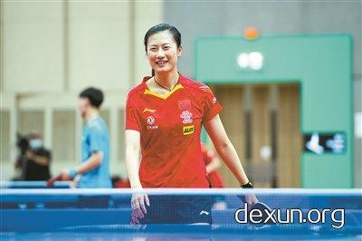 中国乒乓球队在澳门进行长达3个月的集训,苦练体能打磨技术