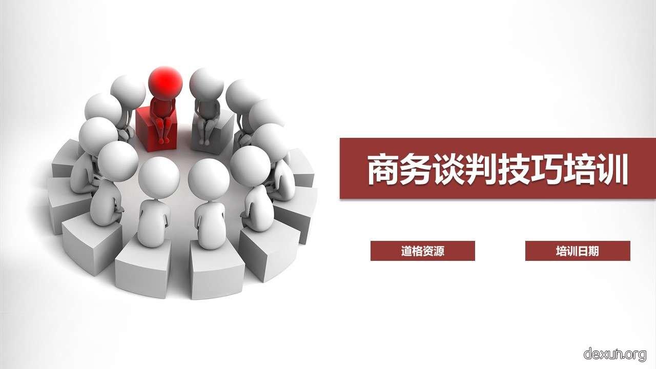 谈判技巧沟通技巧企业培训插图